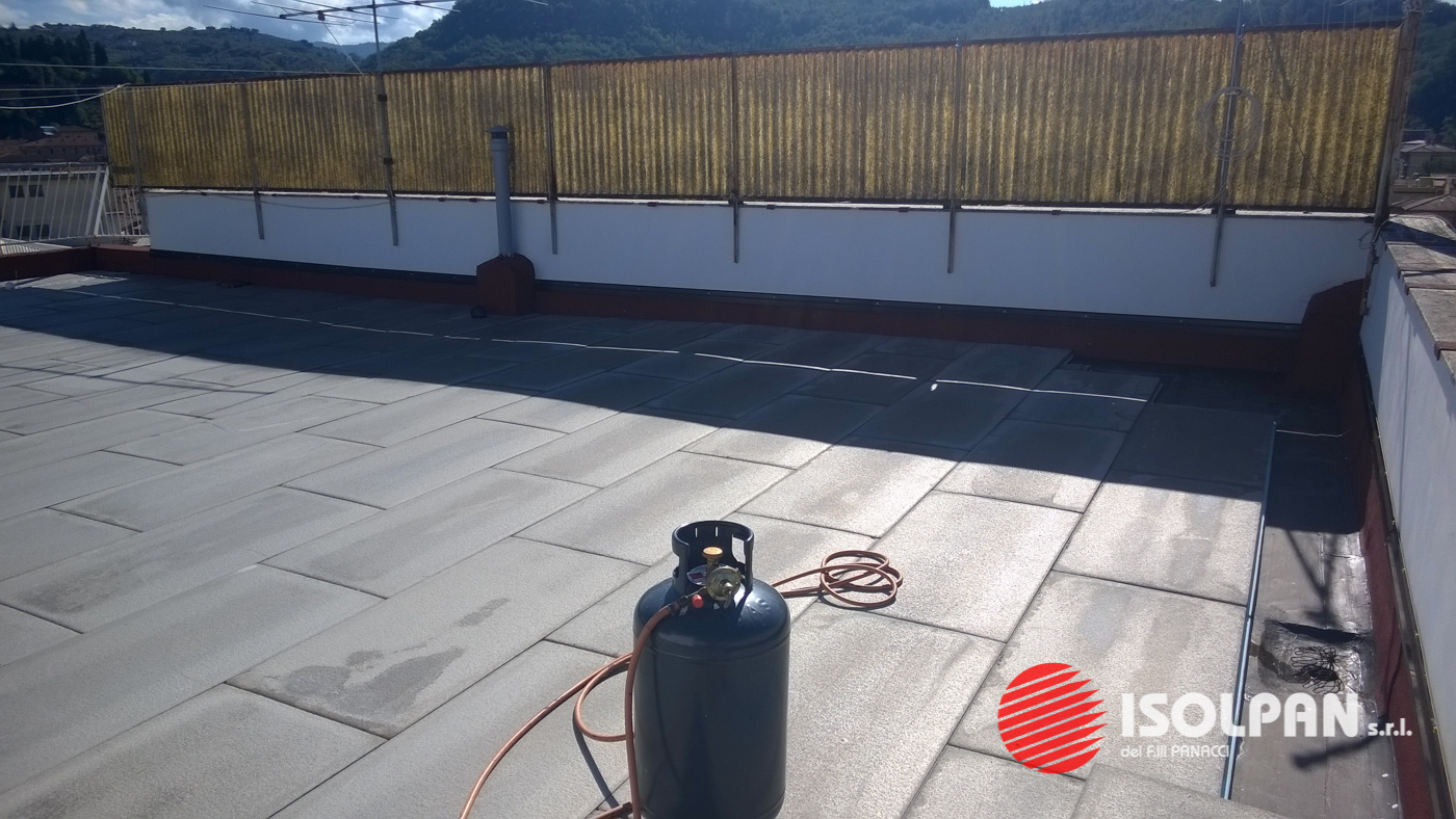 Impermeabilizzazione ed isolamento termico terrazzo - Isolpan srl ...