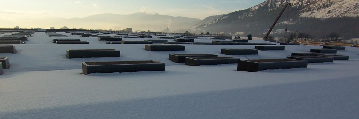Impermeabilizzazione ed isolamento termico Centro Commerciale