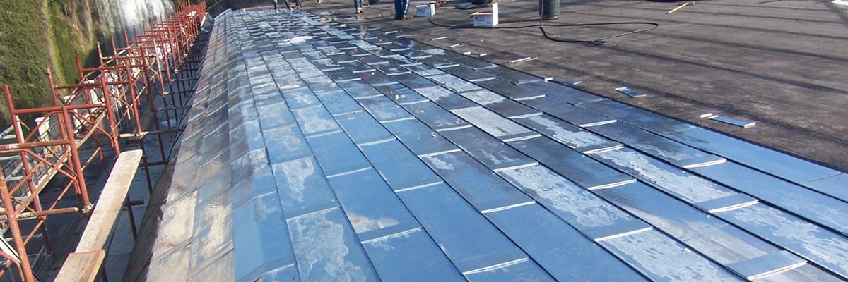 Impermeabilizzazione ed isolamento termico copertura centro polifunzionale