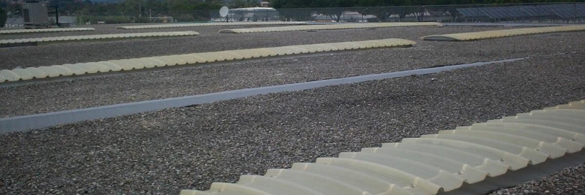 Impermeabilizzazione copertura industriale con manto sintetico