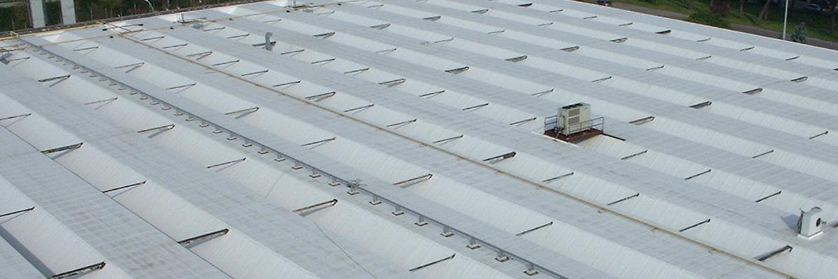 Rifacimento impermeabilizzazione copertura industriale