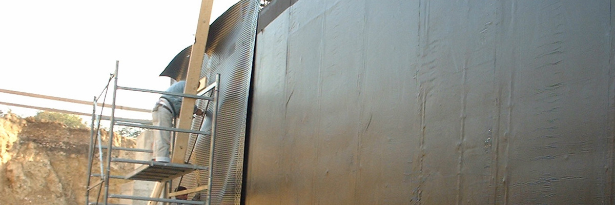 Impermeabilizzazioni pareti verticali