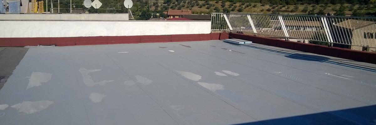 Impermeabilizzazione ed isolamento termico terrazzo
